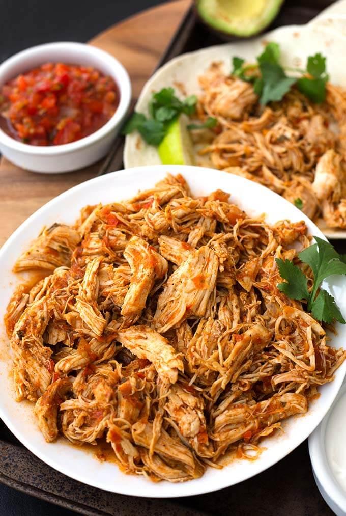 Ninja Foodi Salsa Chicken Recipe