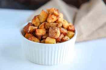 Crispy air fryer Potatoes