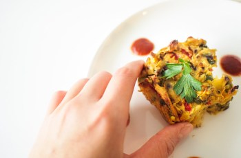 Ninja Foodi veggie Frittata