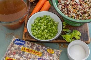 Ninja Foodi Vegan 15-Bean Soup