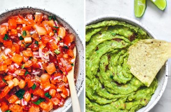 Salsa and Guacamole Recipe