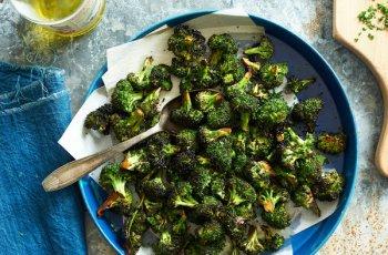 Ninja Foodi Grill Maple Broccoli