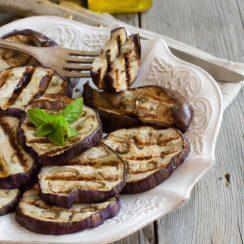 ninja foodi grill cajun eggplant