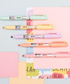filgo resaltador pastel lighter fine mumi diseño divertido