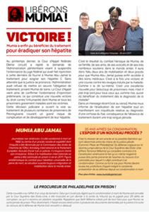 Victoire ! Mumia a enfin pu bénéficier du traitement pour éradiquer son hépatite