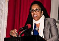 PHILLY meeting - Johanna Fernandez porte-parole de Mumia