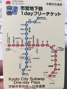 京都地下鉄1日乗車券でラクラク観光!優待特典もあって便利でお得!