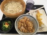 丸亀製麺のとり飯定食を知ってる?本格的なとり飯はコスパ&ボリューム共に大満足!