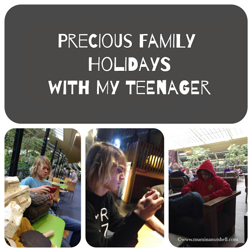 Precious time with my teenager