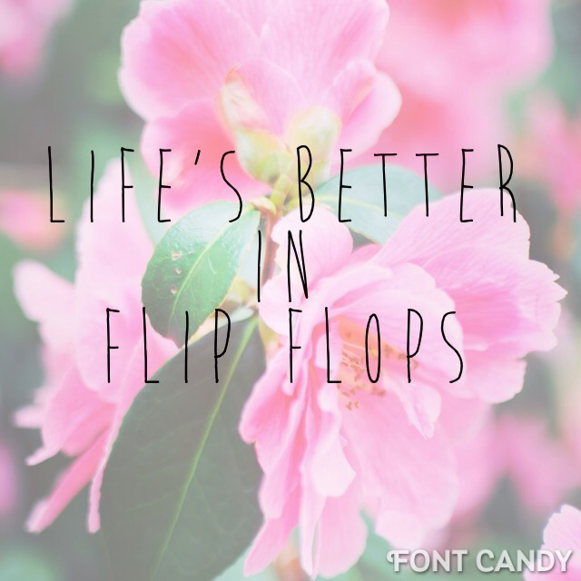 Life's better in flip flops, summer's nearly here and I'm feeling fine by Mum in a nutshell