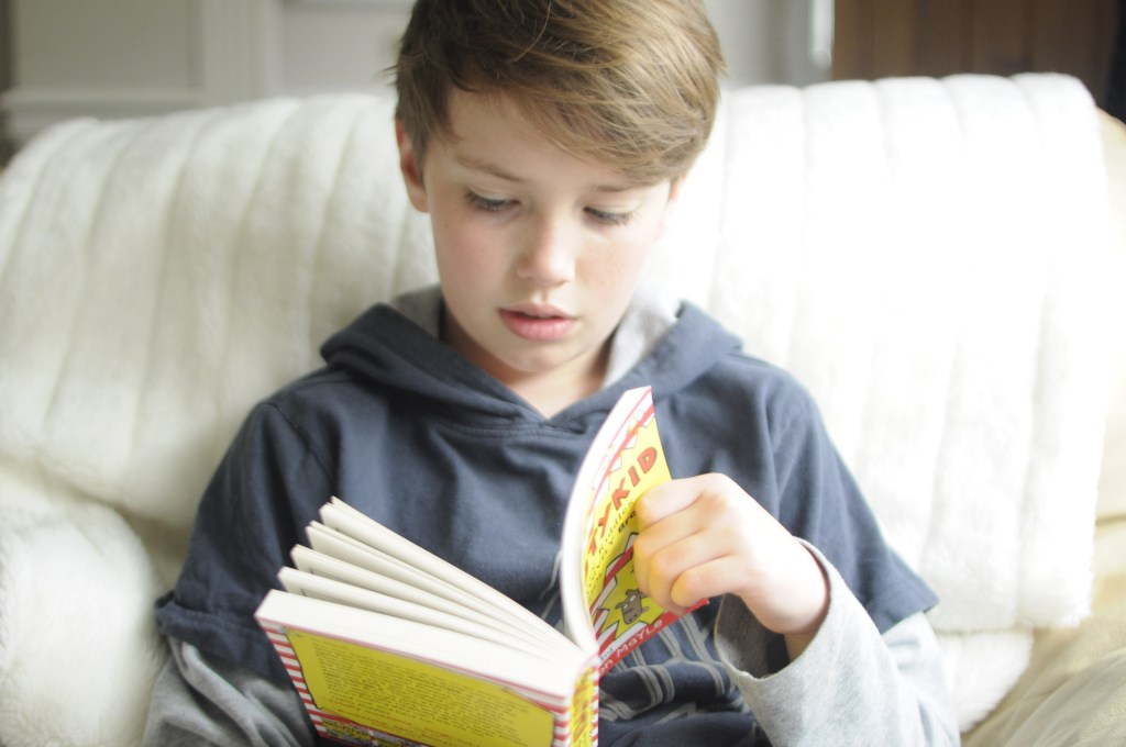 Boys into books – A SHOUTYKID Book review