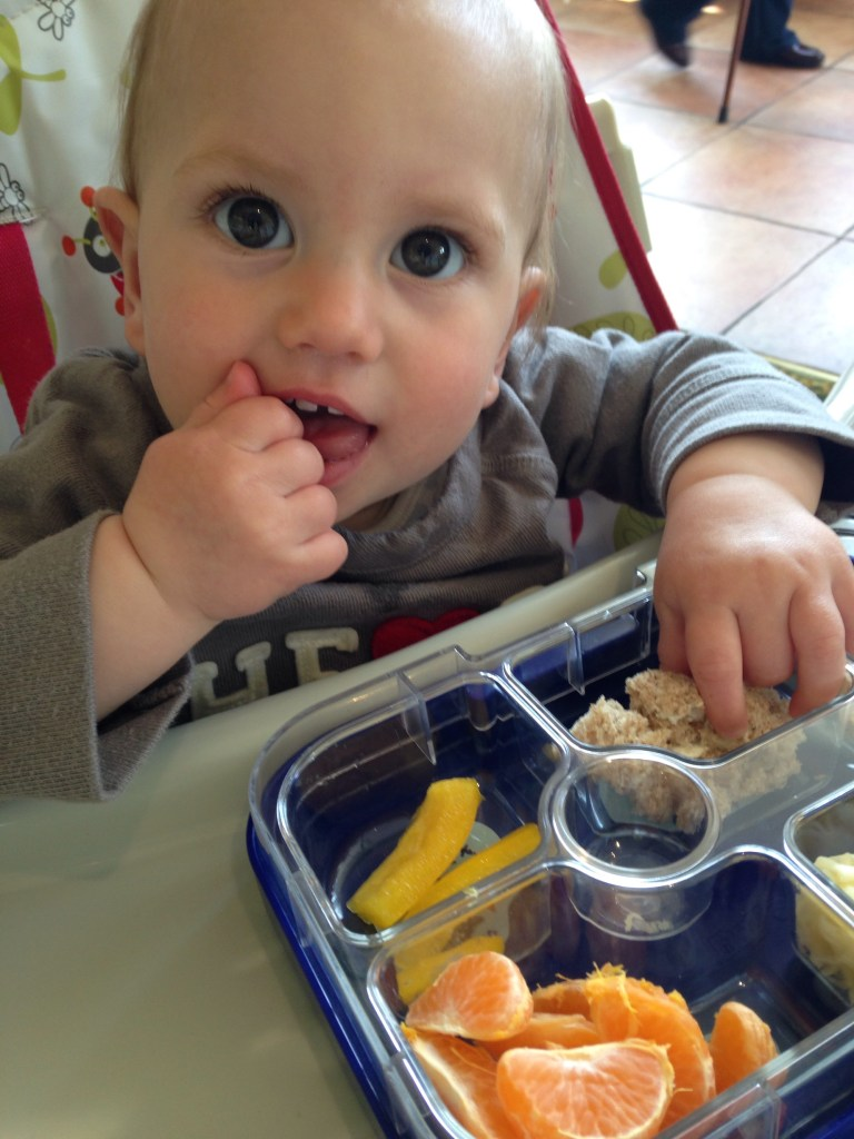 The Perfect Baby Led Weaning Lunch Box – A Yumbox review