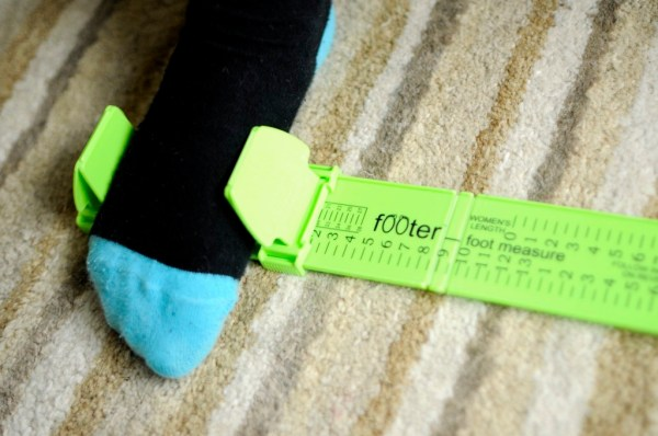 Footer Family review, measuring your feet at home