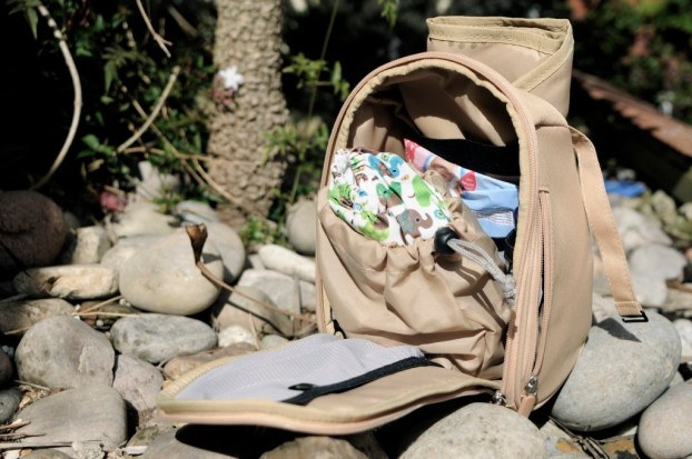 How to organise your changing bag. A perfect changing bag for parents using cloth nappies, the changer pod comes with a handy wet bag big enough to hold any size nappy