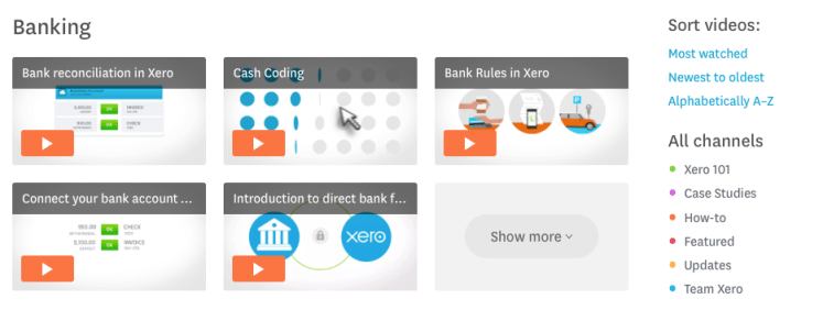 Xero accountancy software for small business'. a review