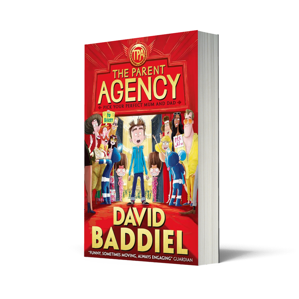 The Parent Agency by David Baddiel – A Review and Giveaway