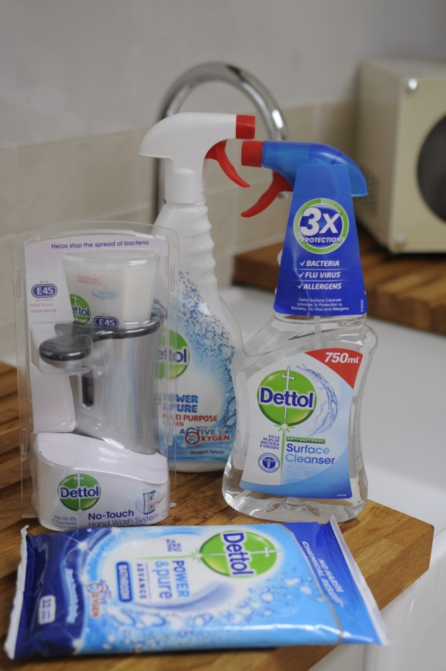 Keeping the family home clean