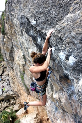 An interview with pro climber, Jenna Goddard the latest ambassador for Saltrock.