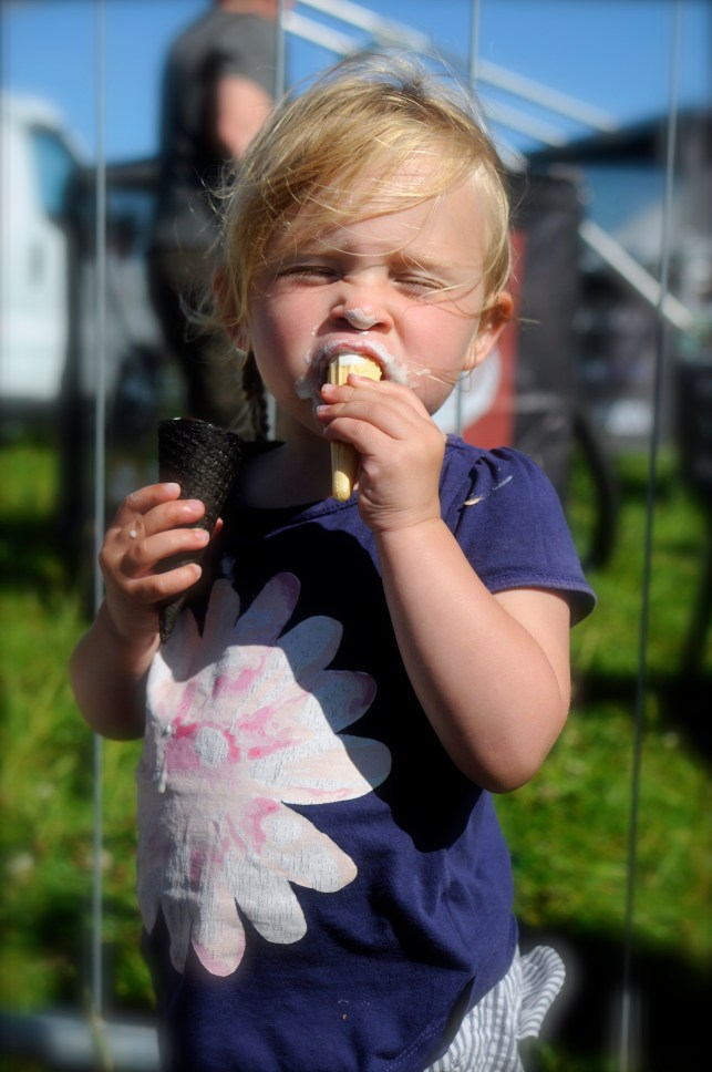 I want all the ice creams! my toddler neice