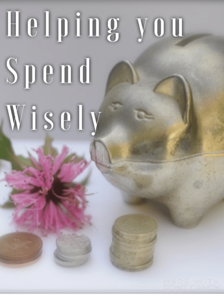 Helping you to spend more wisely
