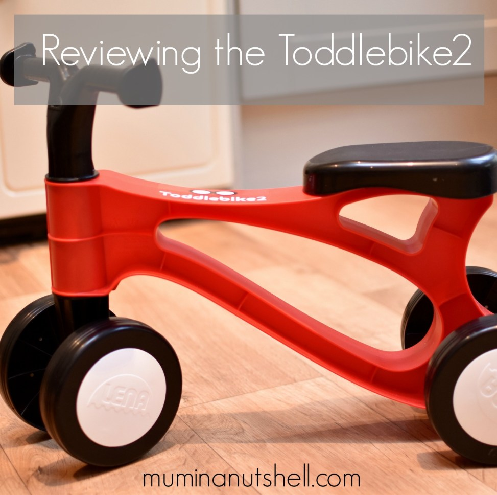 Trying Out The Toddlebike2, The Pre Balance Bike | Review