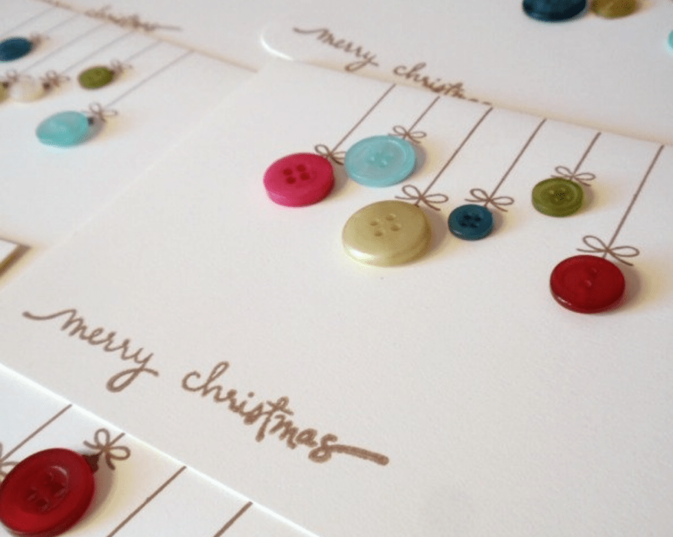 10 simple but fabulous handmade Christmas cards