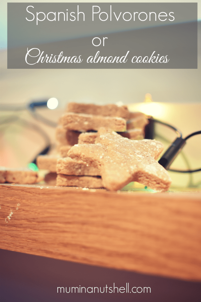 Christmas Almond Cookies or Spanish Polvorones