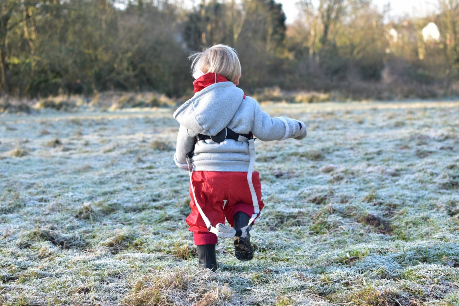 Just a normal day for a lively toddler and how choosing the right nappies is essential