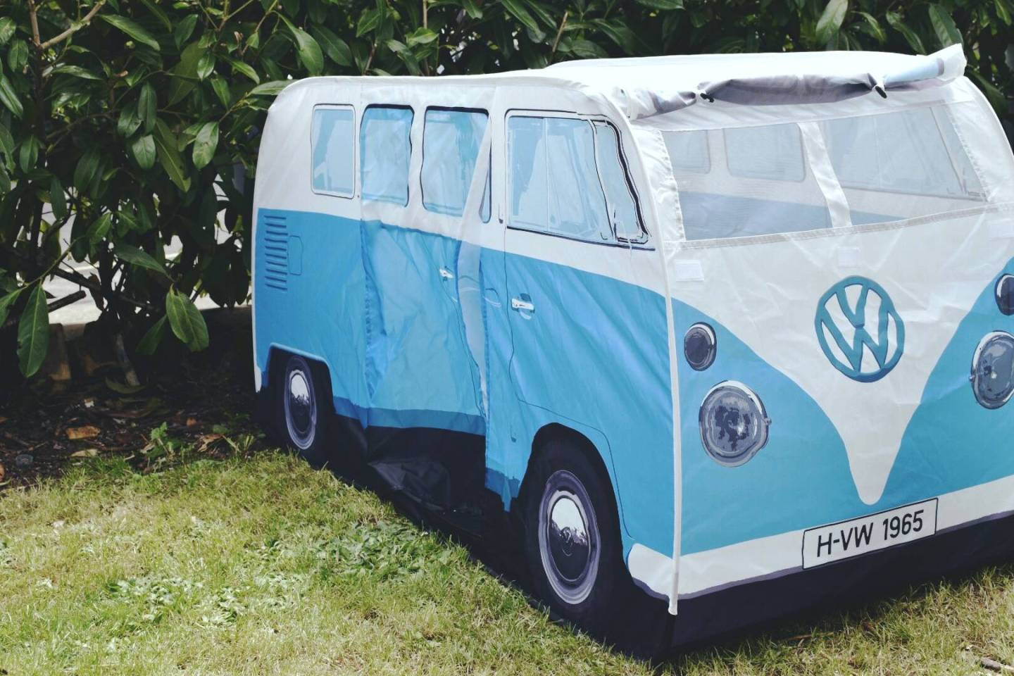 A Funky Little VW Campervan Tent From Planet Camping