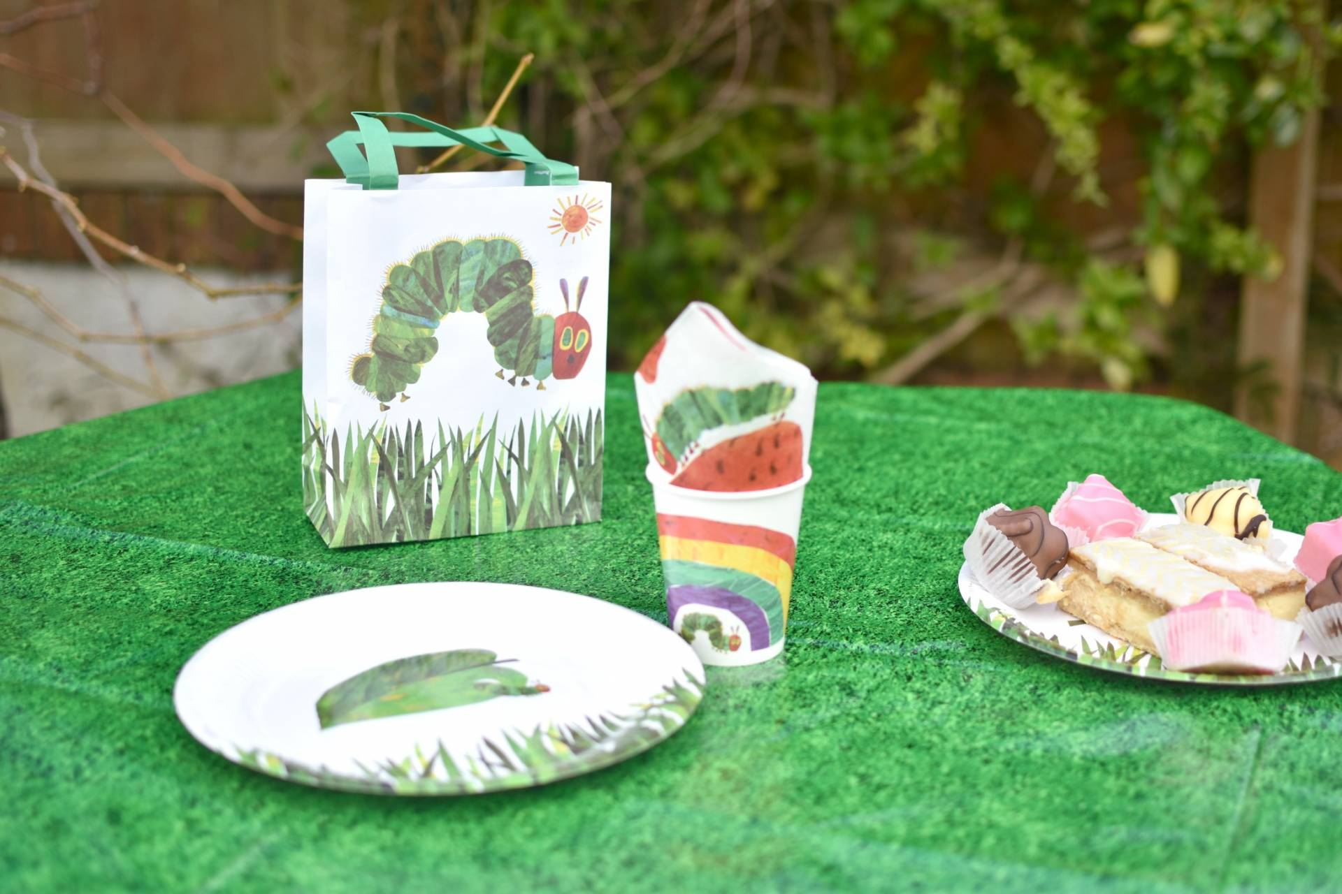 The Very Hungry Caterpillar themed party for toddlers