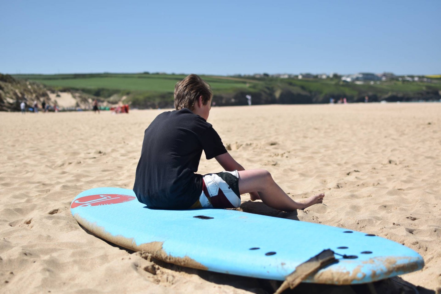 our holiday to Crantock in cornwall where we reconnect as a family and enjoy busy days and lazy evenings