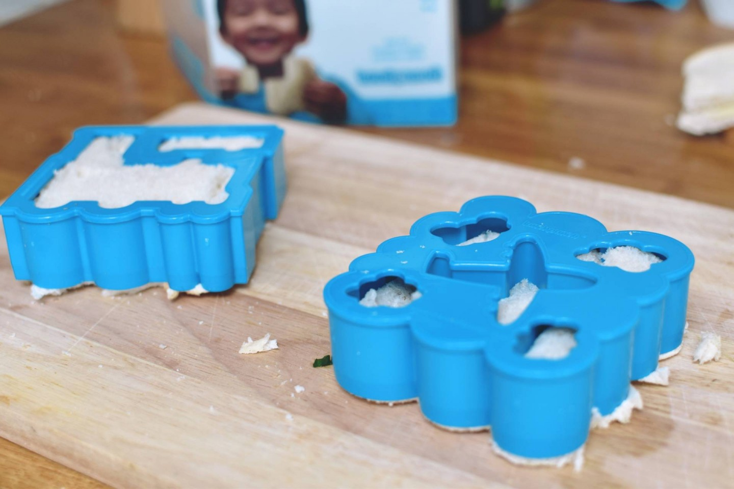 I've found a way to jazz up my toddlers packed lunches with a sandwich press that creates his favourite vehicles from lunch punch