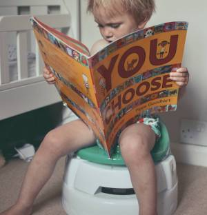 getting prepared to start potty training our toddler with the right equipment for the job
