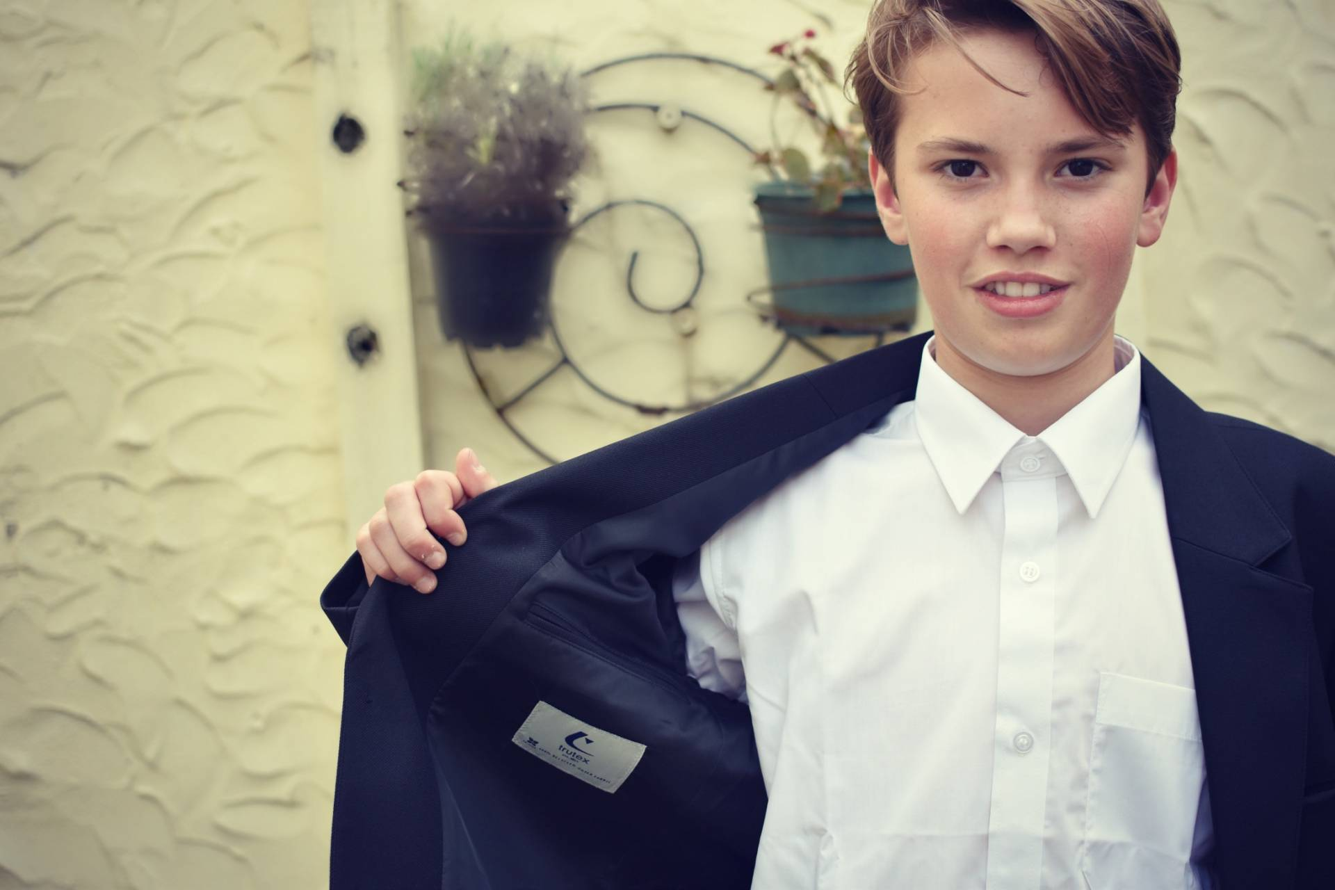 reviewing the Trutex range of kids school uniform, ready for the next new term