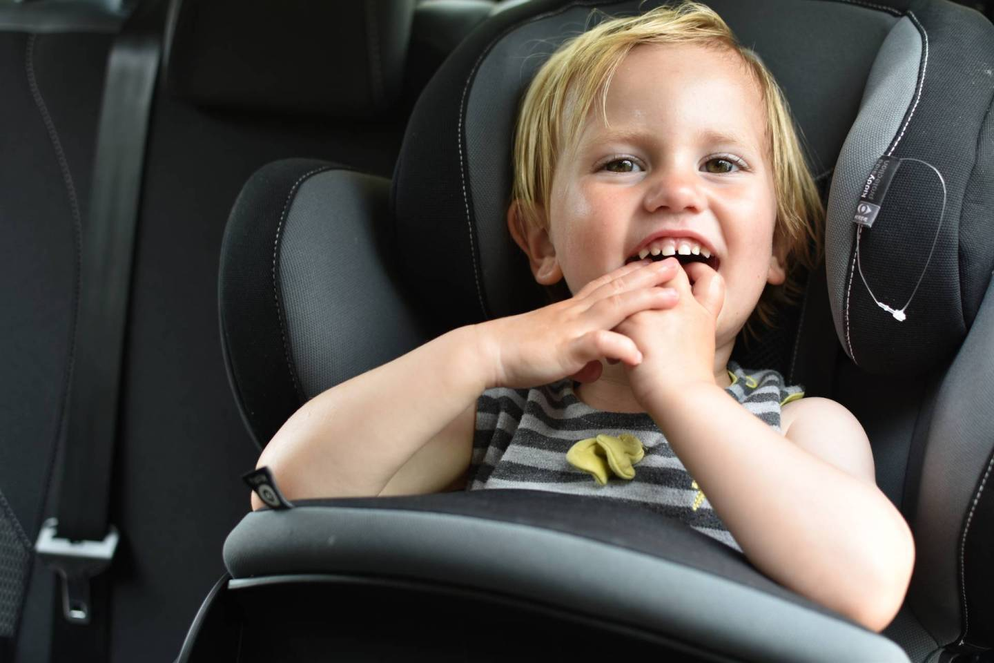 What are your car sear milestones? mine has to be the car journeys to swmming lessons and the first rides home with my new babies from the hospital  read more here to see if you have any similar ones.