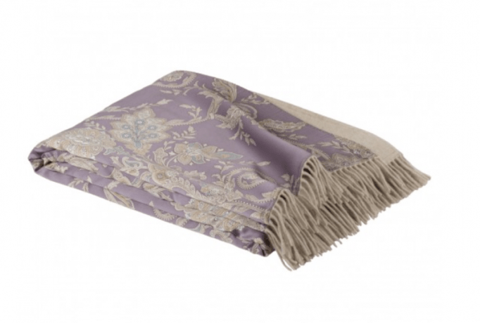 njecting a little luxury into your bedroom starting with a silk and cashmere throw from Frette