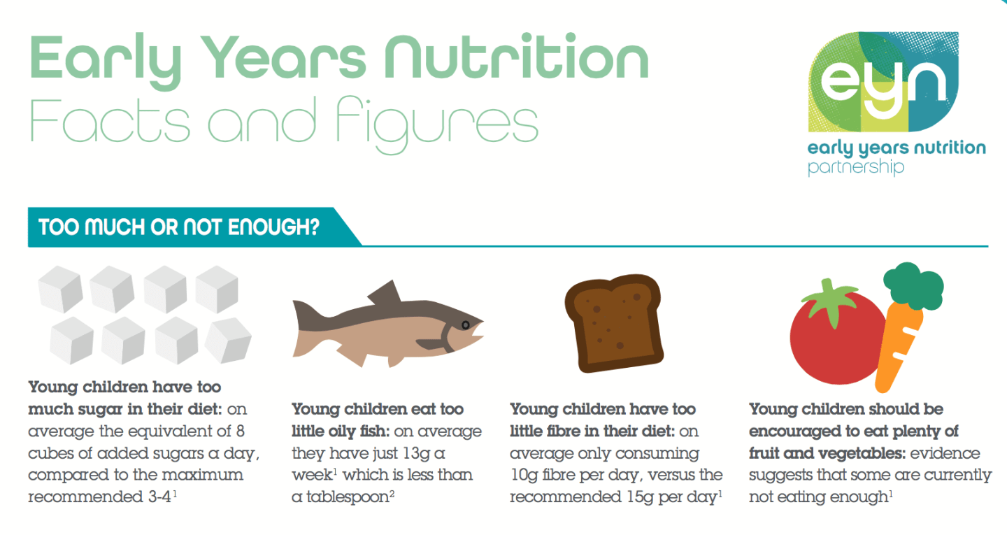 Supporting the Early Years Nutrition Partnership