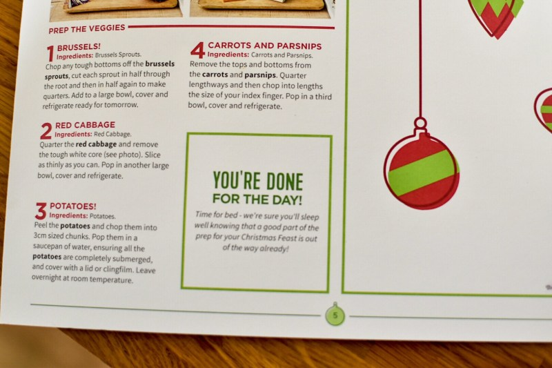 I bring good news about a great, stressfree way to simplifying the Christmas day dinner with a HelloFresh Christmas box.