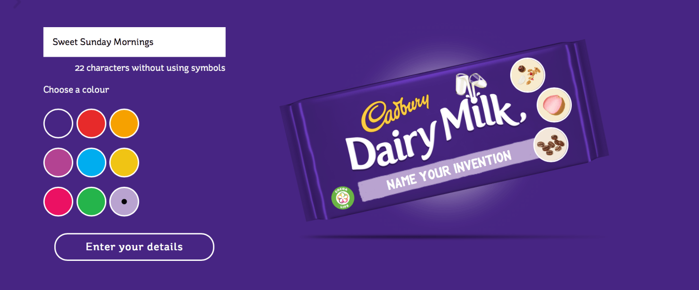 What Would Be Your Ultimate Cadbury Chocolate Bar?