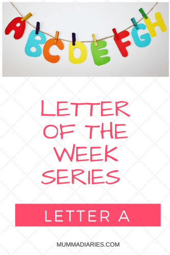 letter-of-the-week-seriesa