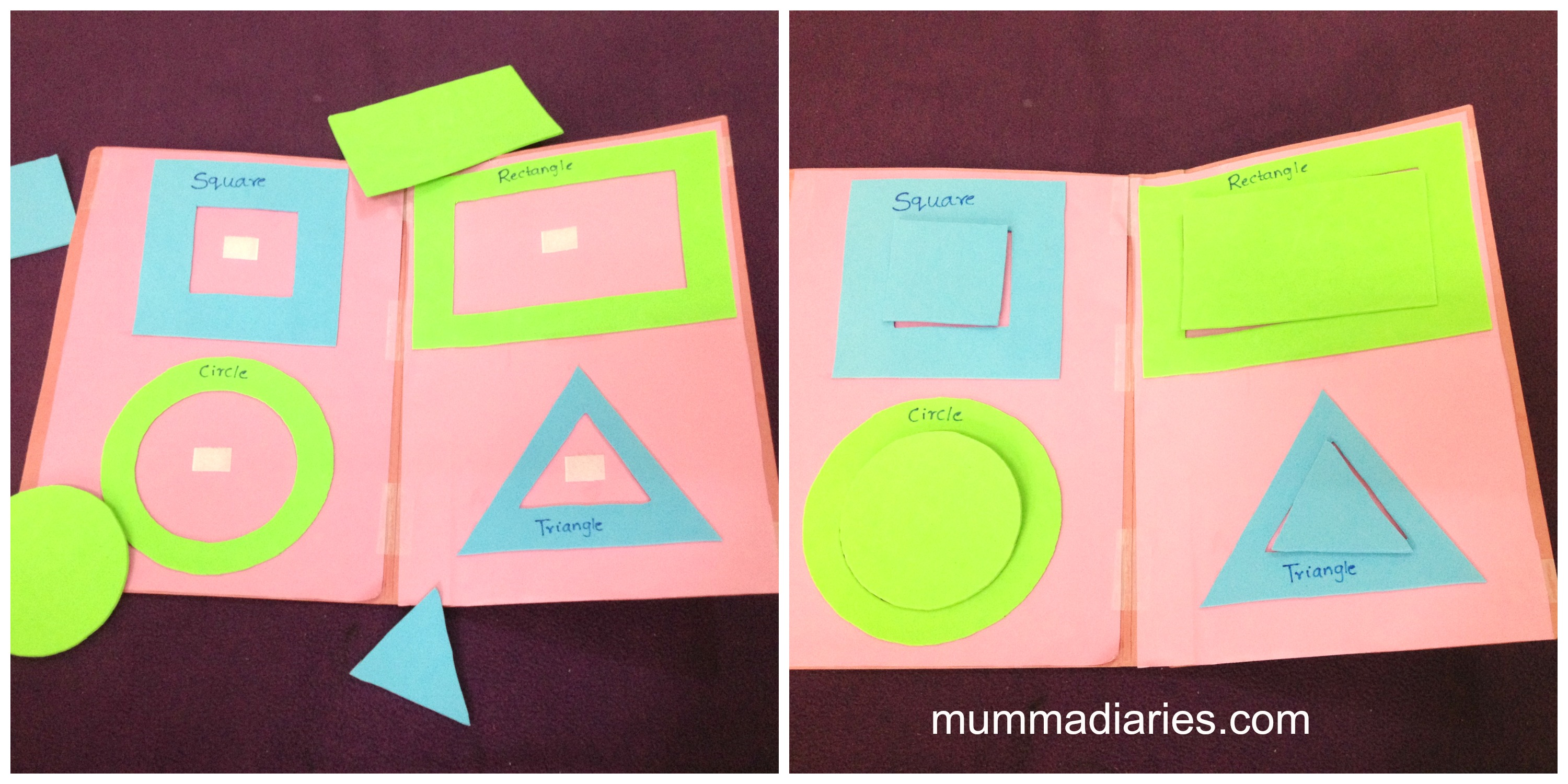 Activities For Toddlers Shapes And Colors