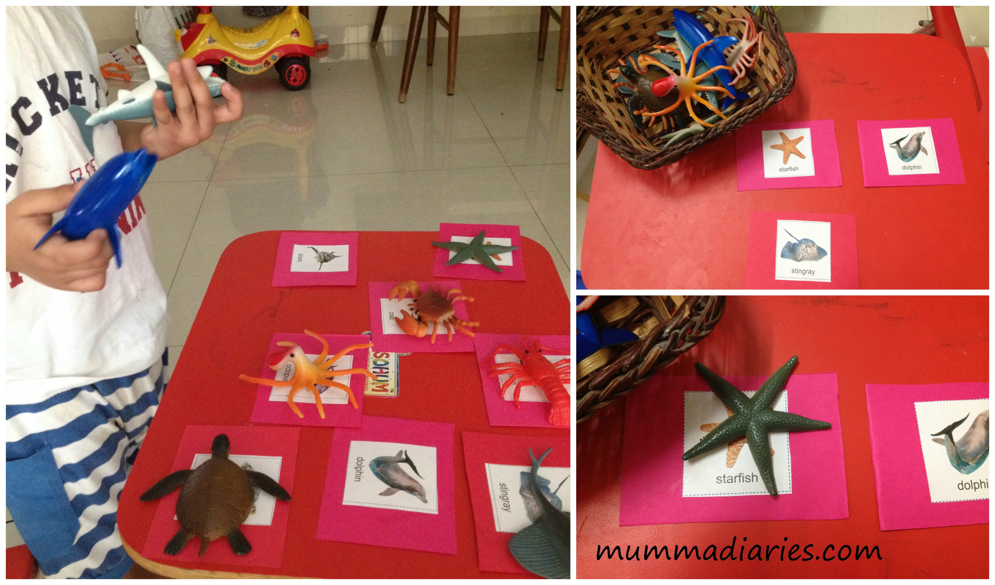 Ocean Themed Toddler Activities With Free Printable Pack