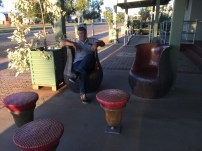 Gum nut chairs and stools!