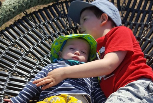 Brothers At The Park