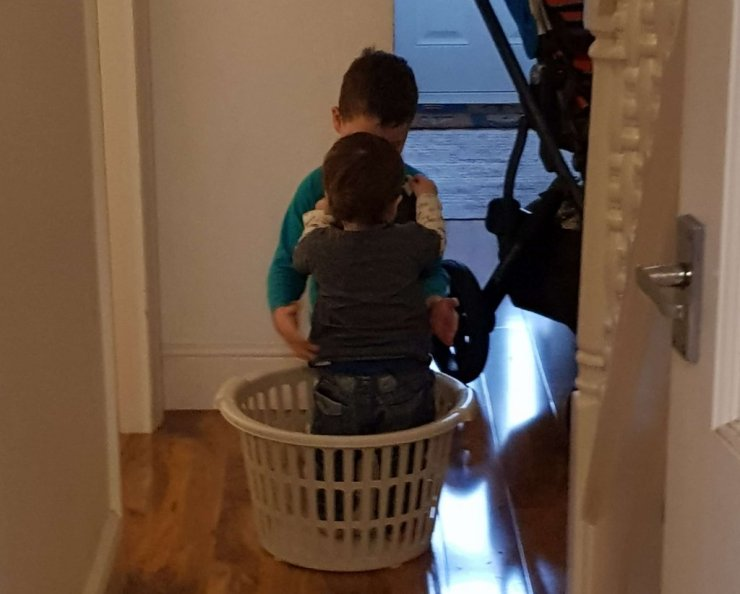 brothers-playing-in-basket