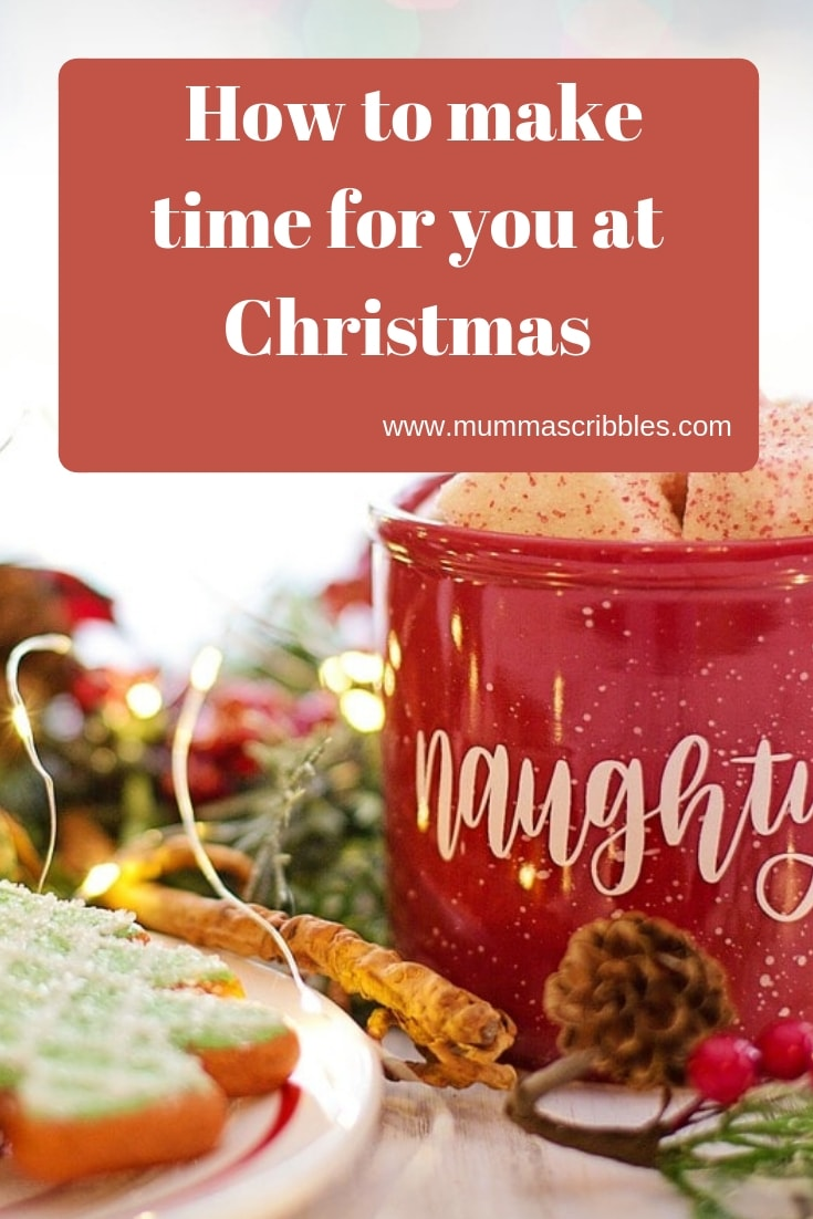 Make Time For Yourself At Christmas