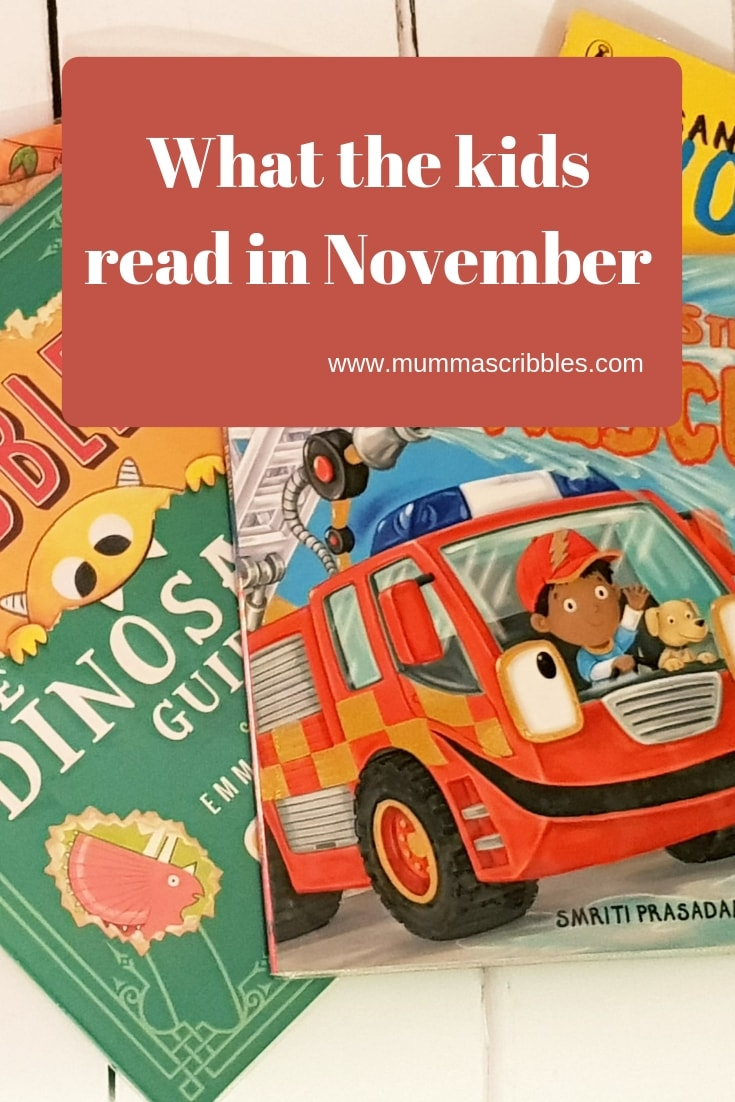 What The Kids Read In November