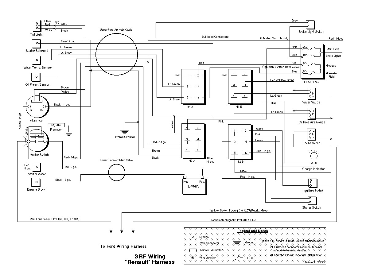 renault engine wiring diagram