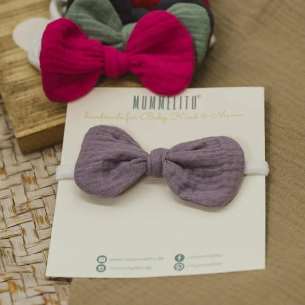 Mummelito-Babyschleife-malvenlila (1)