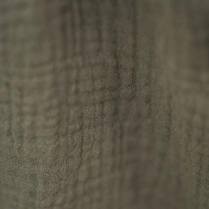 Bluse – Musselin – mausegrau